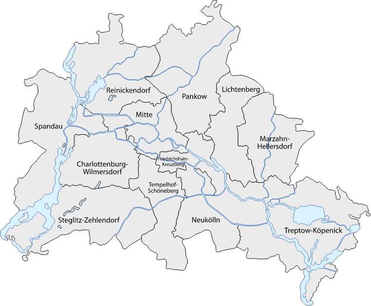 Berlin Bezirke