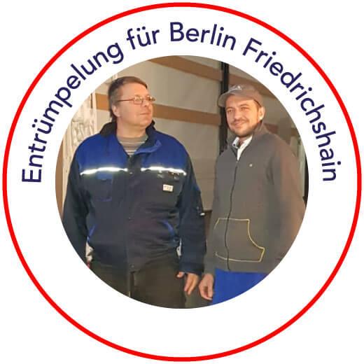 Entrümpelung Berlin-Friedrichshain